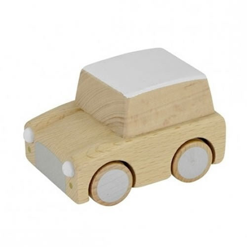 Wooden Wind Up Car - Kiko+ - natural