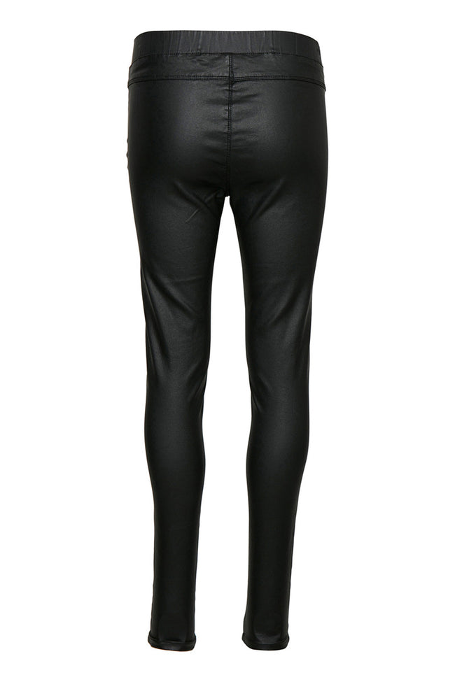 Ada coated jeggings - Black Deep