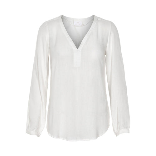 Amber 3/4 Blouse - Chalk