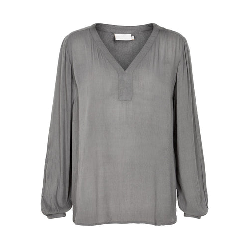 Amber l/s Blouse - Smoked Pearl