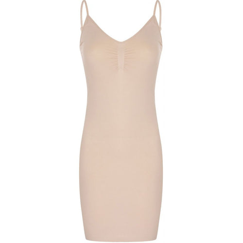 Seamless dress - nude
