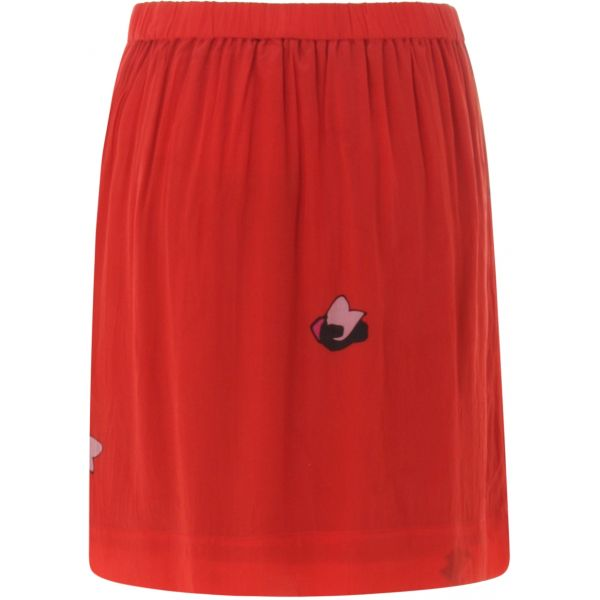 Red blot skirt