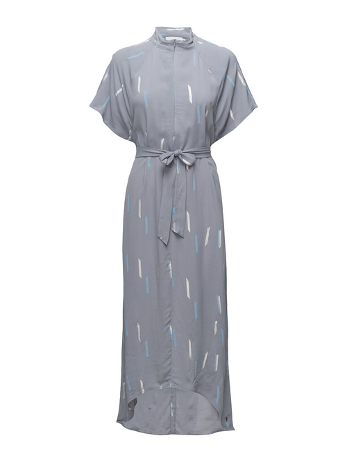 Steel Blue Summer Rain Dress