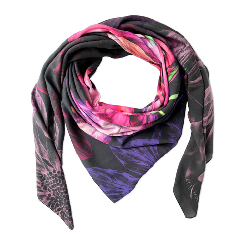 Ebony Bright Medium Scarf