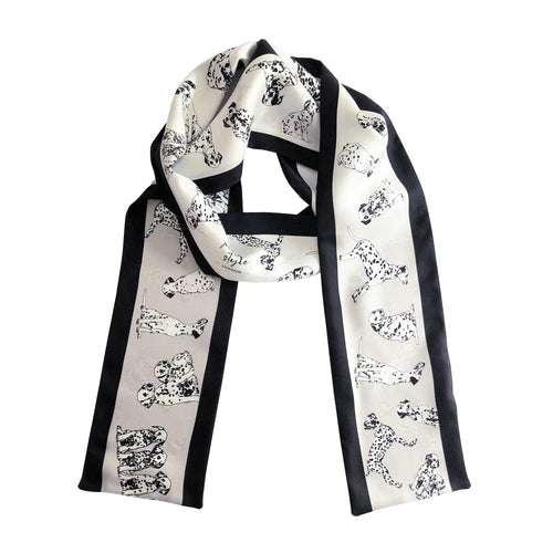 FASHION HOUNDS - Skinny Silk Scarf