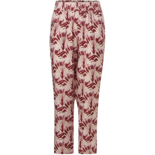 Pamela Palm Print Pants
