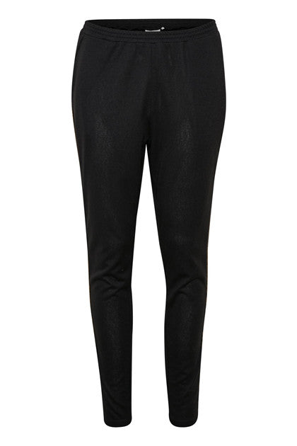Zoe Sweatpants - Black and Gold
