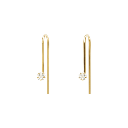 Glow Gold Earrings