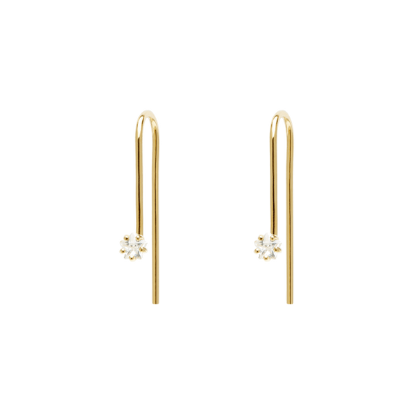 Lira Gold Earrings