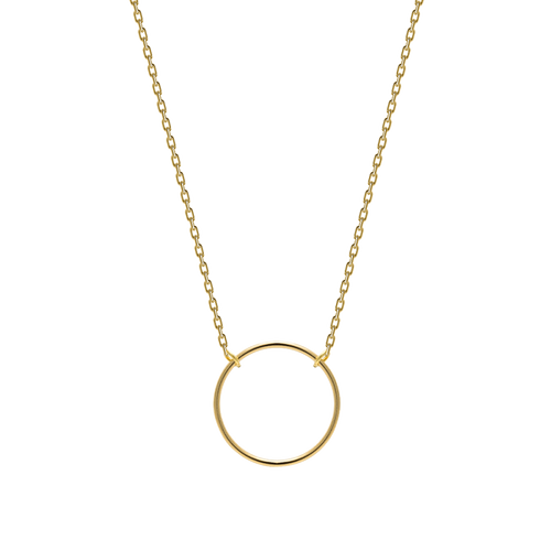Turn Gold Necklace