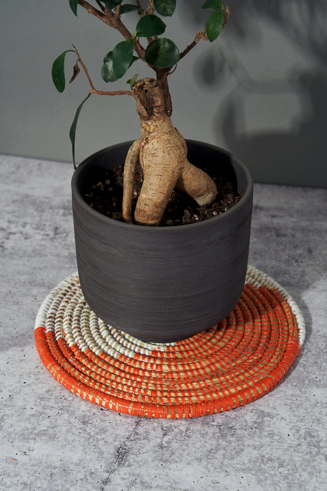 Babacar Plant Mat: Orange