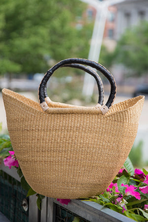 Fatima Winged Shopper: Natural