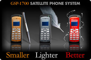 Satellite Phone Rental - GlobalStar Model GSP-1700