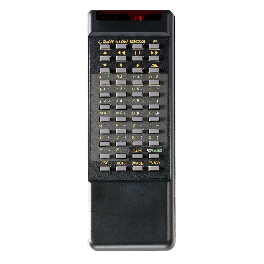 IR Remote for Programmable Scrolling Message Sign (Version 5 only)