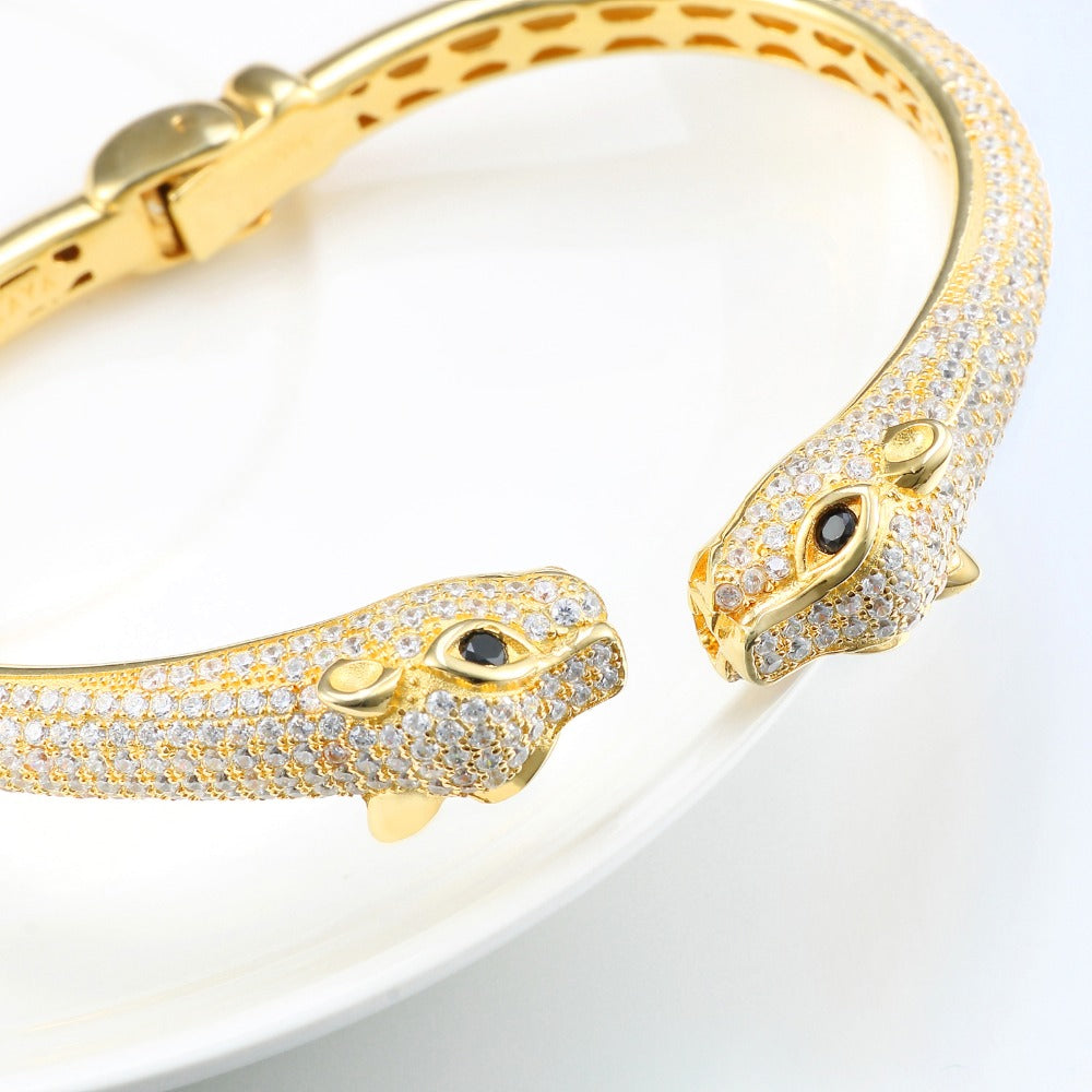 bracelet browns from jewellery yellow bracelets image family gold jewellers panther