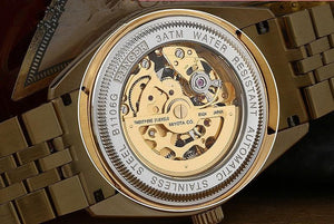 18k Gold Limited Edition Watch Iced CZ Bezel