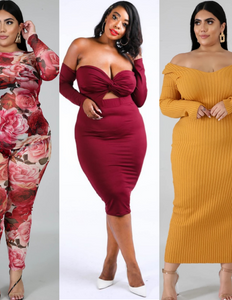 Curvaceous collection