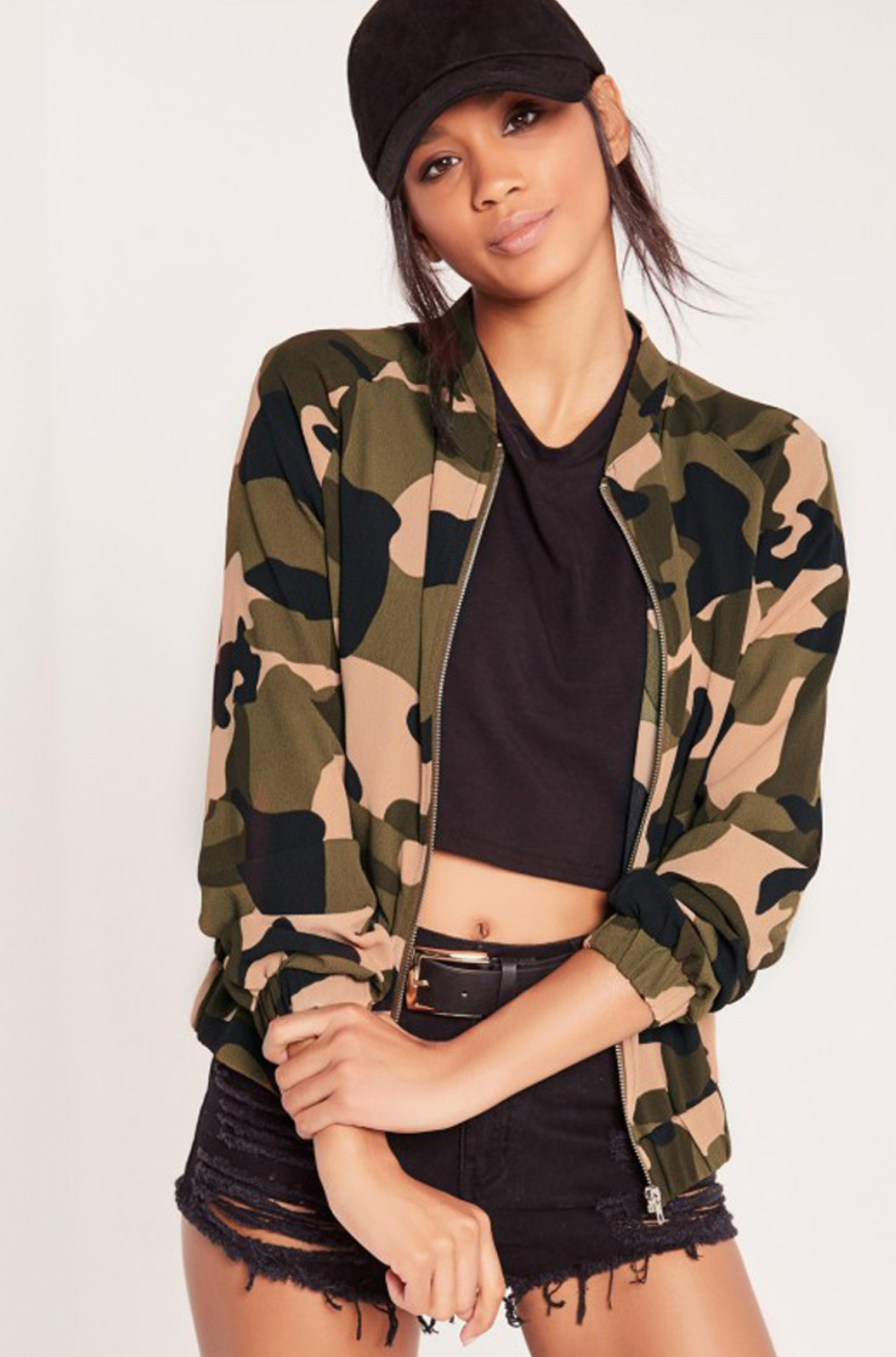 Too fly camo bomber