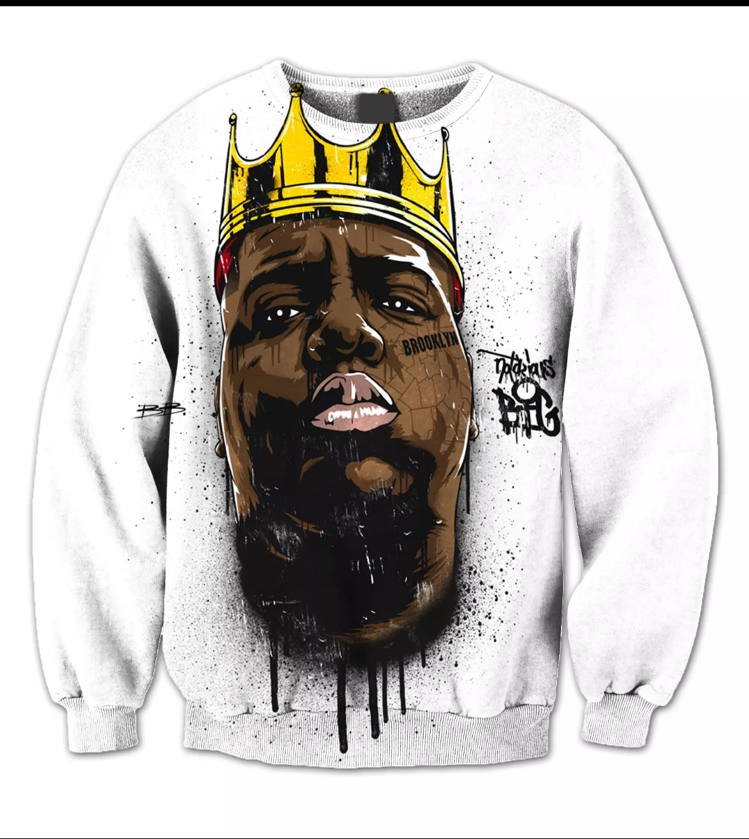 Hip hop royalty sweater