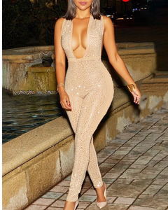 Birthday suit jumpsuit
