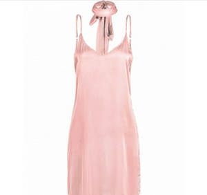 Pink nighty dress