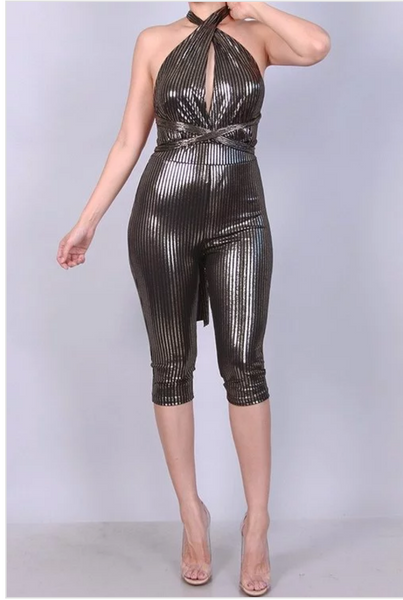 Shimmery lights jumpsuit