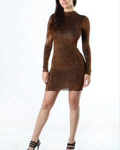 Less is more bodycon mini dress