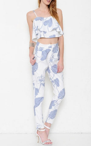 Tropical Vacation pants set
