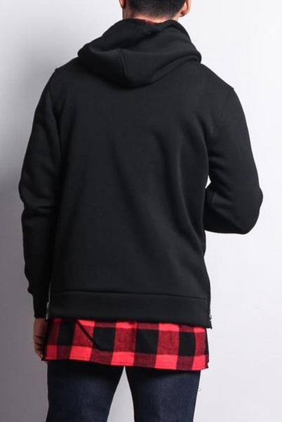 No effort Layered hoodie