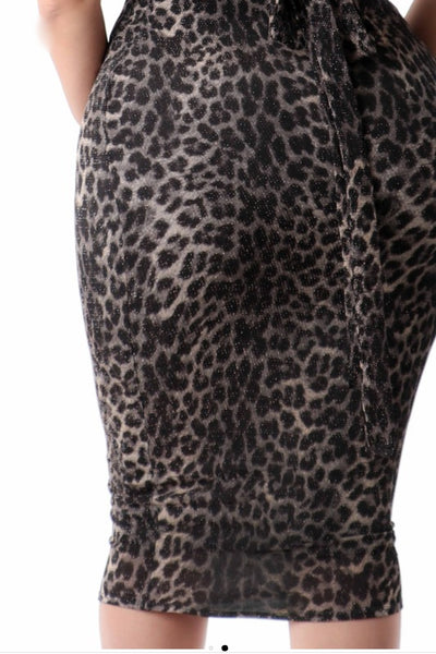 Chic in Cheetah bodycon