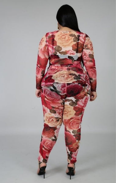 In bloom pant set