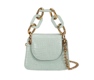 Allure mint micro crossbody