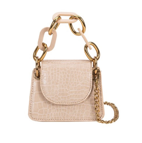 Allure nude micro crossbody