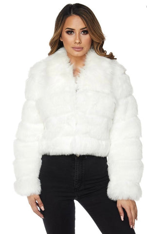 Arctic fur coat