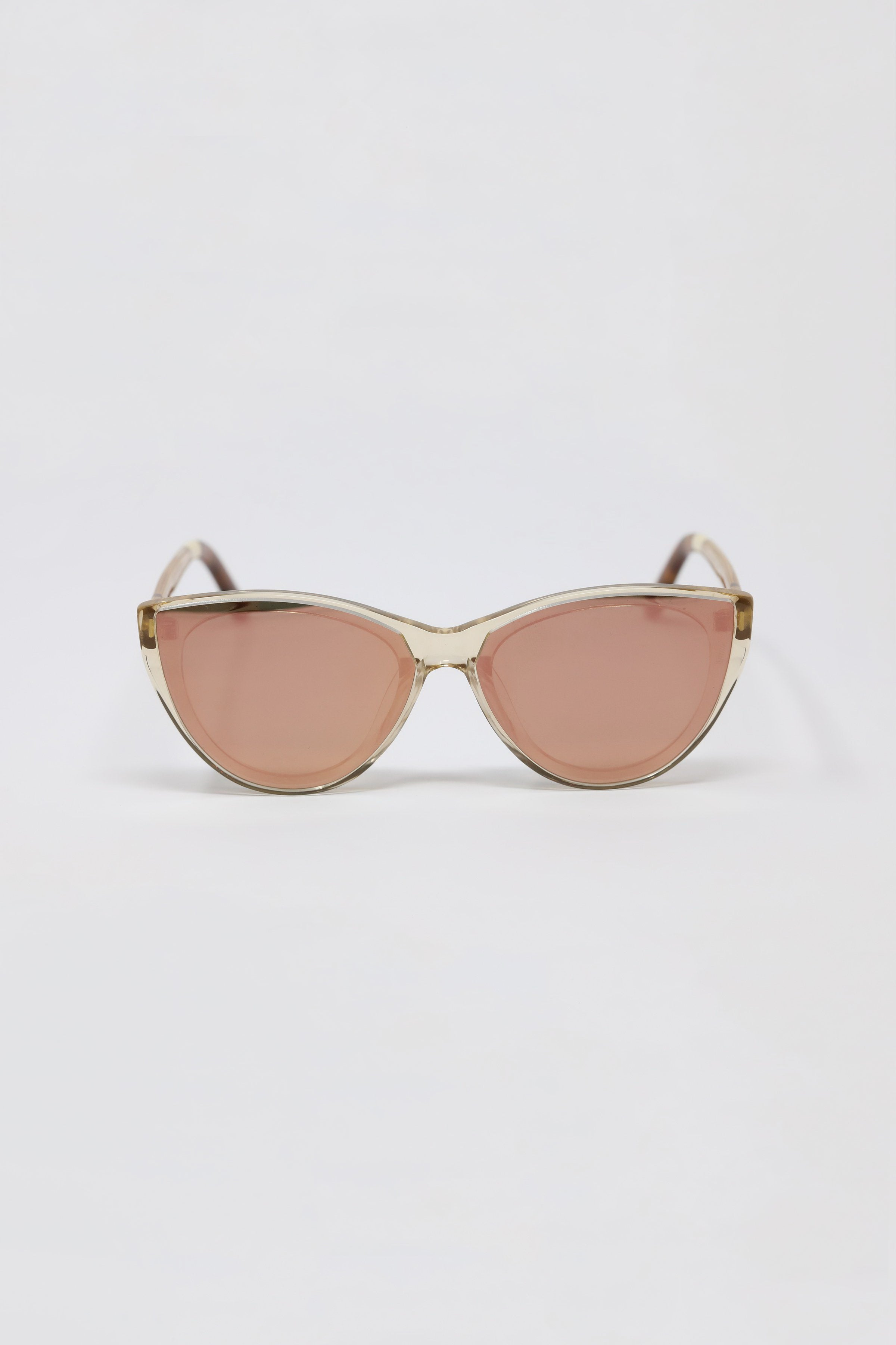 Josie Champagne Crystal Sunglasses