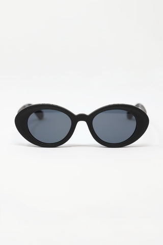 Rossio Matte Black Sunglasses