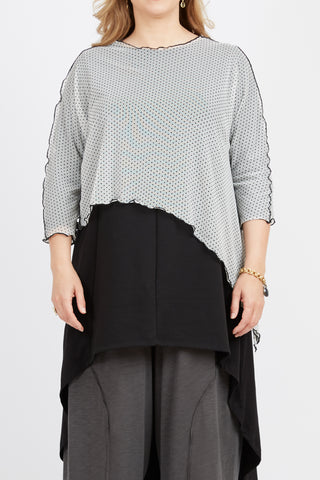 Asymmetrical Mesh Triangle Top
