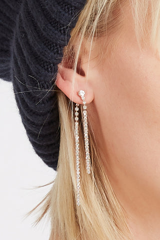 Double Sided Icicle Earrings
