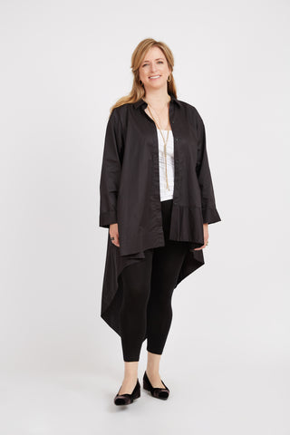 Asymmetric Shirt Tunic