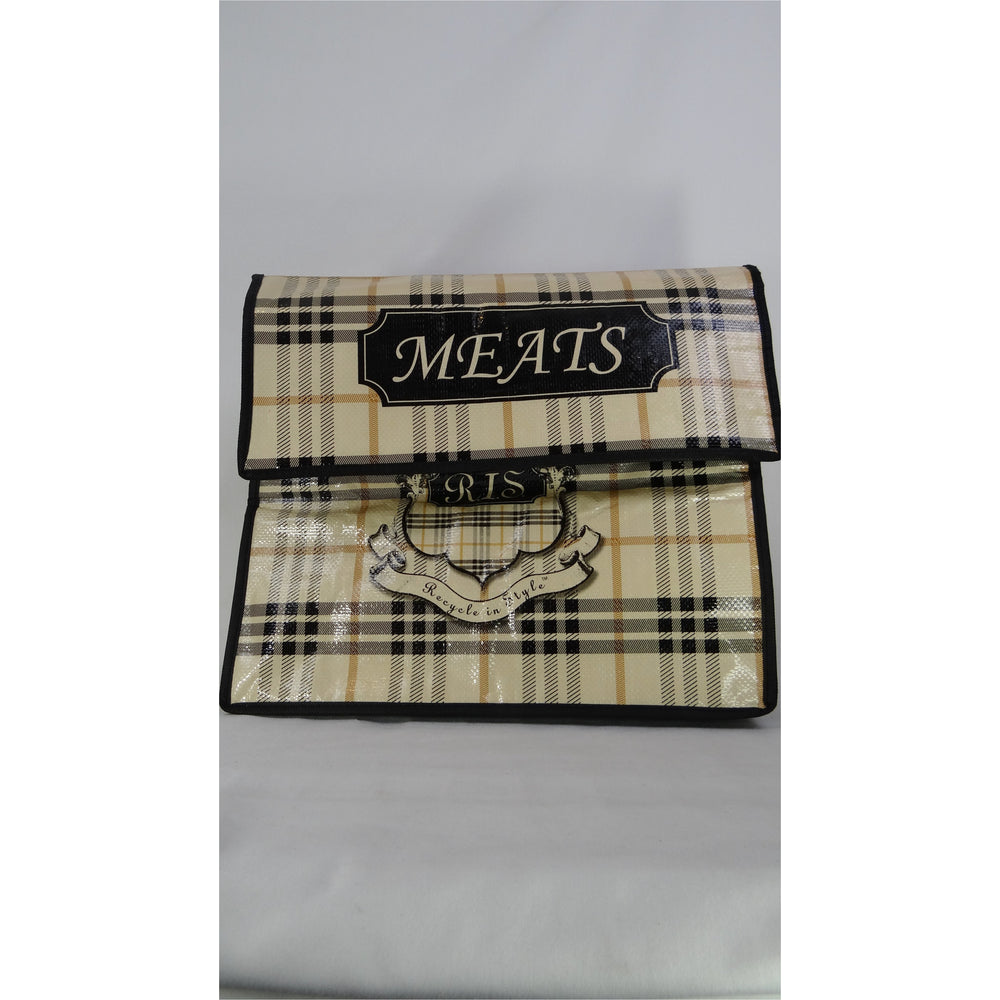 Grocery Bag Set - English Plaid