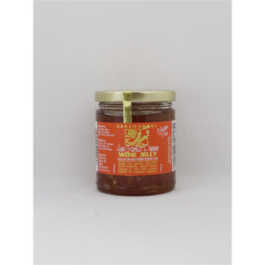 Hot Garlic Pepper Wine Jelly