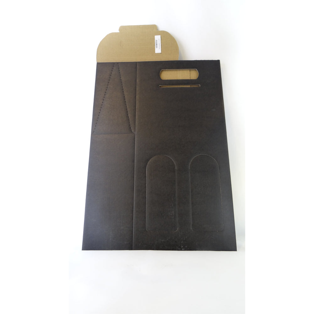 2 BOTTLE CARRIER BLACK