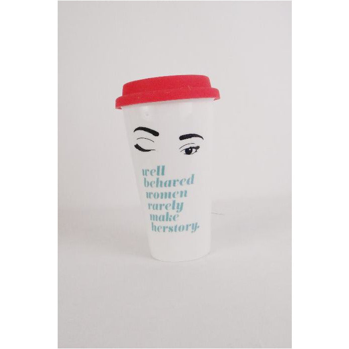 WELL BEHAVED WOMEN THERMAL MUG