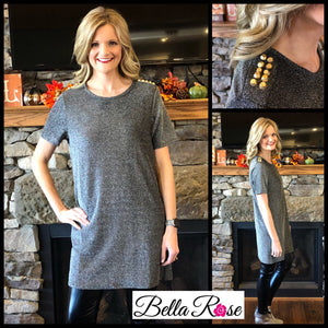 Studded Dress - bella-rose-boutique-and-tanning