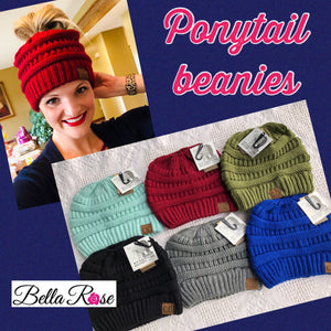 VS Ponytail Beanie - bella-rose-boutique-and-tanning