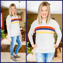 Bright Stripe Sweater