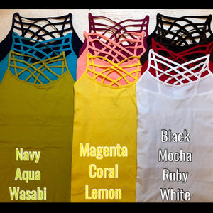Cage Camis - bella-rose-boutique-and-tanning
