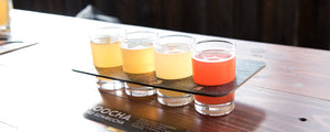Hoocha Hard Kombucha Tasting Flight