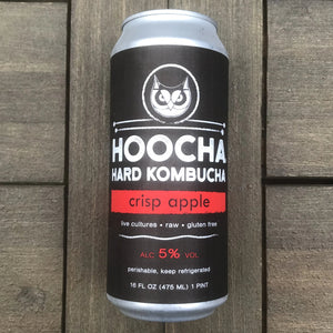 Crisp Apple Hard Kombucha 4-Pack, 16 oz. Cans