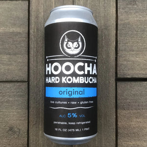 Hoocha Hard Kombucha Original 16 oz Can